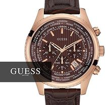 GUESS 腕時計 W0500G3 GUESS(ゲス) B01LS96ZI2 Guess Leather Ch
