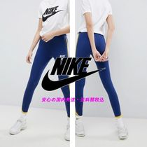 NIKE☆Archive Leggings In Blue With Piped Trim♪