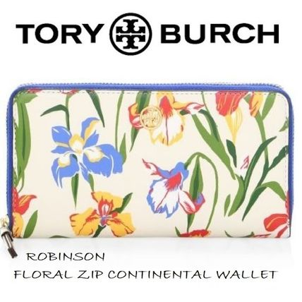 【SALE】トリーバーチ☆ROBINSON FLORAL ZIP WALLET