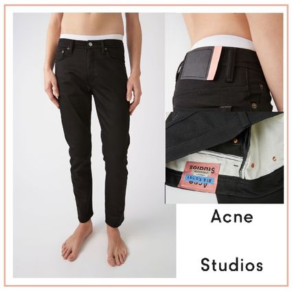 Acne デニム・ジーパン Acne Studios Bla Konst :: River stay black :: Cropped jeans