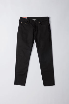 Acne デニム・ジーパン Acne Studios Bla Konst :: River stay black :: Cropped jeans(11)