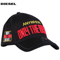 """DIESEL """"ANYWHERE ONLY THE BRAVE"""" CHINUS-D キャップ"""