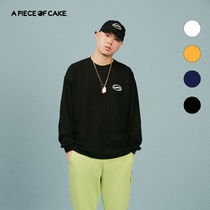 A PIECE OF CAKE(ピースオブケイク) Tシャツ・カットソー ★A PIECE OF CAKE★ Oval Logo Longsleeved T-shirt