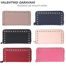 VIP価格!VALENTINO Rockstud zip around wallet ♪