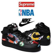 ★Supreme★18SS Nike x NBA Air Force 1(ブラック)