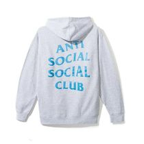 ANTI SOCIAL SOCIAL CLUB MYSELF HOODIE GREY グレー パーカー