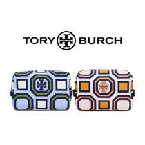 【送料関税込】TORY BURCH Printed Nylon Medium ポーチ