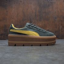 PUMA X FENTY BY RIHANNA WOMEN SUEDE CLEATED CREEPER (GREEN)