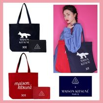 3 CONCEPT EYES(スリーコンセプトアイズ) トートバッグ 3CE×MAISON KITSUNE★TOTE BAG&POUCH
