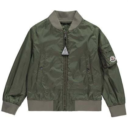 "MONCLER キッズアウター 2018SS 大人も着れるMoncler""Guillacカーキ(-14才)"