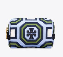 Tory Burch PRINTED NYLON SMALL COSMETIC CASE