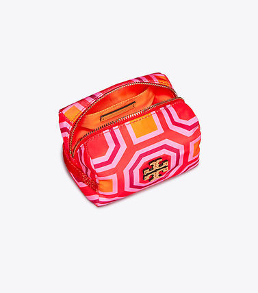 Tory Burch メイクポーチ Tory Burch PRINTED NYLON SMALL COSMETIC CASE(3)