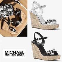☆ Michael Kors☆Jill Floral Sequined  Wedge