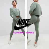 NIKE☆Archive Leggings In Green With Piped Trim♪