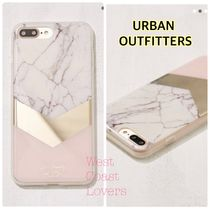 Urban Outfitters★ピンク ゴールド マーブル iPhone7/8Pluscase