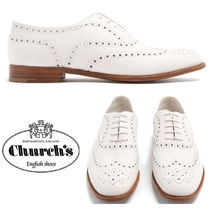 【18SS】大注目!!★CHURCH'S★Burwood leather brogues