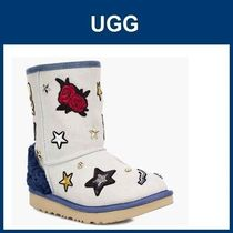 大人もOK(19.5~24.5cm)キッズ UGG Patch It Classic Short