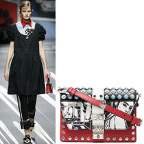 PR1056 LOOK9 COMICS PRINT ELEKTRA SHOULDER BAG