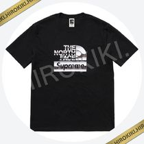 Sサイズ★Supreme The North Face Metallic Logo T-Shirt Tee 黒