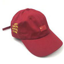 ANTI SOCIAL SOCIAL CLUB BRIM CAP 'CHINA' RED キャップ