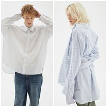 日本未入荷INDIGO CHILDRENのOVERSIZED STRIPE TAIL SHIRT 全3色
