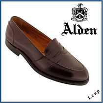 【ALDEN】FULL STRAP SLIP ON オールデン  レザー 茶★