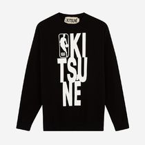 即配★MAISON KITSUNE x NBA 18SS SWEAT SHIRT CREW NECK XS/S
