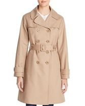 kate spade new york Double-Breasted Bow Back Trench Coat
