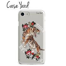 Case Yard★Eye of the Tiger☆虎&花☆iPhone スマホケース