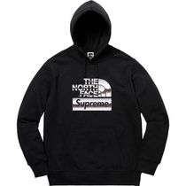 7 week SS18☆Supreme X The North Face Metallic Logo Hooded