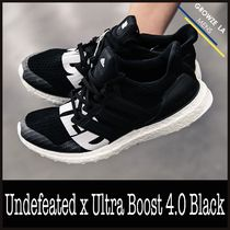 ★【adidas】追跡発 コラボ Undefeated x Ultra Boost 4.0 Black