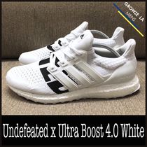 ★【adidas】追跡発 コラボ Undefeated x Ultra Boost 4.0 White