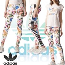 adidas x The FARM Company18SS★FLORALITA JEANS 花柄レギンス