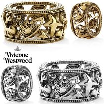 ◆VivienneWestwood◆オーブxスターxハート♪Aaron Ring Antique