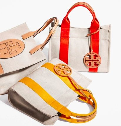 Tory Burch トートバッグ 最新作限定セール トリーバーチ 2WAY MILLER CANVAS MINI TOTE