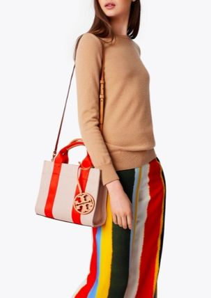 Tory Burch トートバッグ 最新作限定セール トリーバーチ 2WAY MILLER CANVAS MINI TOTE(2)