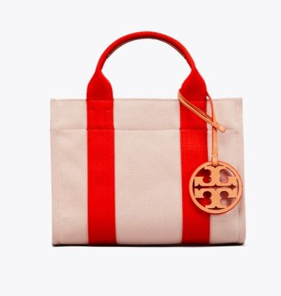 Tory Burch トートバッグ 最新作限定セール トリーバーチ 2WAY MILLER CANVAS MINI TOTE(3)