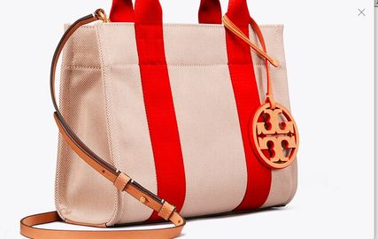 Tory Burch トートバッグ 最新作限定セール トリーバーチ 2WAY MILLER CANVAS MINI TOTE(4)