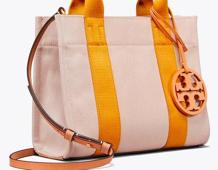 Tory Burch トートバッグ 最新作限定セール トリーバーチ 2WAY MILLER CANVAS MINI TOTE(8)