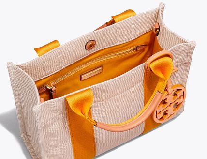 Tory Burch トートバッグ 最新作限定セール トリーバーチ 2WAY MILLER CANVAS MINI TOTE(9)