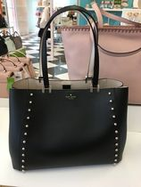 【kate spade】新作☆素敵♪スタッズ付き large romily トート☆