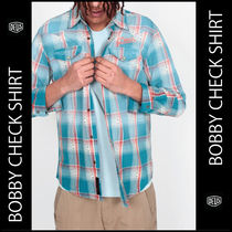 ★DEUS★BOBBY CHECK shirt追跡送料込