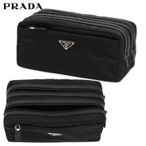 【正規品保証】PRADA★18春夏★NYLON TOILETRY BAG_BLACK