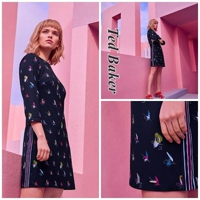 """☆2018SS新作☆【TED BAKER】""""WANDLE""""華やか♪ワンピース"""