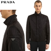 【正規品保証】PRADA★18春夏★NYLON PIUMA CASUAL JACKET