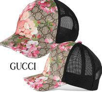 【GUCCI】GG Blooms  ベースボールキャップ☆