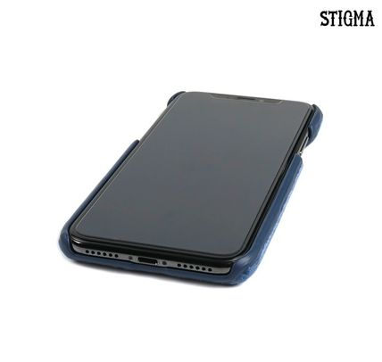 STIGMA スマホケース・テックアクセサリー STIGMA◆BLACK PANTHER VELVET FABRIC CASE◆iphone7/8/X(4)