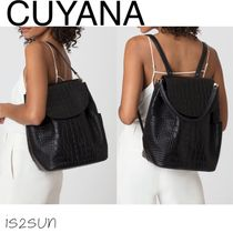 CUYANA(クヤナ) バックパック・リュック ★海外限定★ CUYANA/ Leather Backpack -2way-イタリア製本革♪