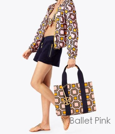 Tory Burch トートバッグ 最新作限定セール 4色 トリーバーチ PRINTED TORY TOTE(2)