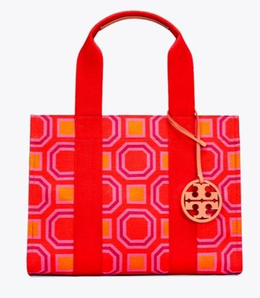 Tory Burch トートバッグ 最新作限定セール 4色 トリーバーチ PRINTED TORY TOTE(3)